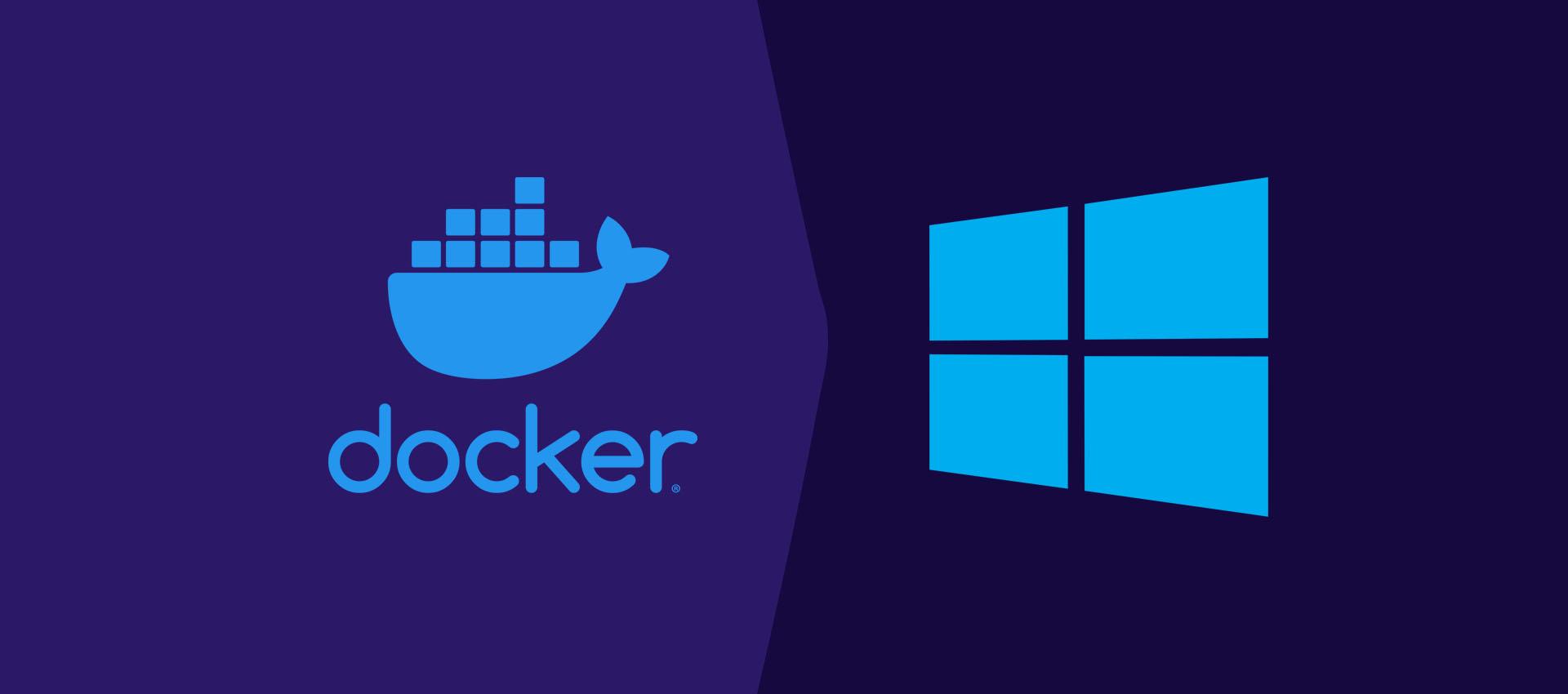 How To Change Docker Data Path On Windows 10